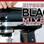 KitchenAid Black Mixer Color Comparison - Onyx, Caviar, Matte, Imperial, Cast Iron