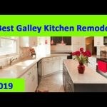 GALLEY KITCHEN : 2019 Small Galley Kitchen Remodel Design