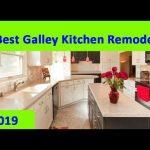 GALLEY KITCHEN : 2019 Small Galley Kitchen Remodel Design