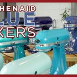KitchenAid Mixer Colors - Blue | Ice, Aqua, Cobalt, Willow, Ocean Drive, Ink, Crystal, Twilight..