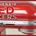 KitchenAid Red Mixer Color Comparison: Empire, Ruby, Cinnamon, Bordeaux, Boysenberry