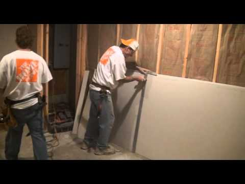 DIY Hanging Drywall On the Walls (Part 2) - THE REVIEW GUIDE