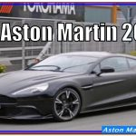 Aston Martin 2018 | New Aston Martin Vanquish 2018 Review Interior And Specs