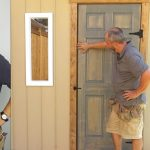 DIY Door and Shed Window Install | How to Build a Shed | Part 5