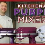 KitchenAid Purple Mixer Colors - Lavender Cream, Boysenberry, Plumberry, Black Violet
