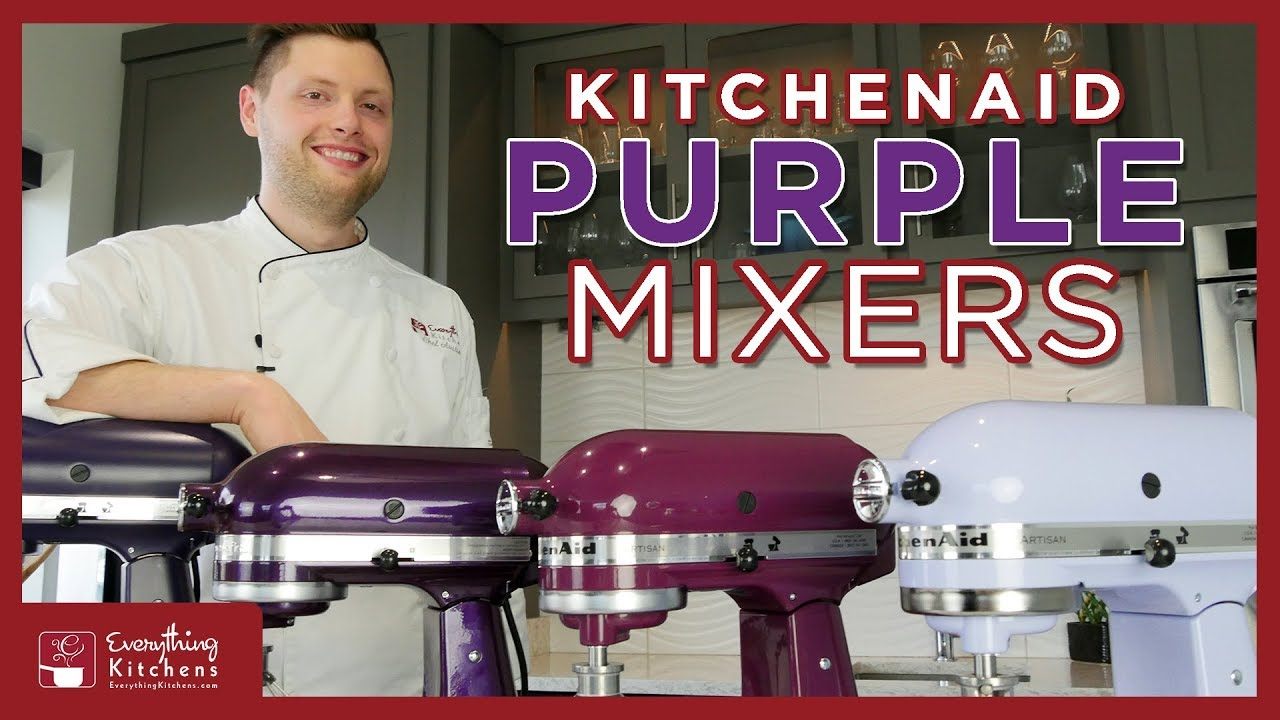 Kitchenaid Purple Mixer Colors Lavender Cream