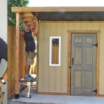 Soffit, Posts,  Trim, Ramp and Door | How to Build A Shed | Part 6