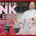 KitchenAid Mixer Colors - Pink Mixer Colors Compared - Old Version