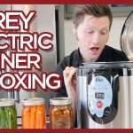 Carey Electric Smart Pressure Canner Unboxing and Testing