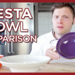 Fiestaware Bowl Comparison - Salad Bowls, Cereal Bowls, Bistro Bowls, and More