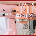 Kitchenaid Pink Mixers - Bird of Paradise, Silk, Guava Glaze, Cranberry, Raspberry Ice