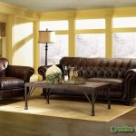 Decorating a Living Room with Brown Leather Furniture