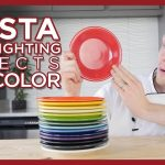 All Fiestaware Colors and How they Look in Different Lighting Conditions - Fiesta Dinnerware Colors