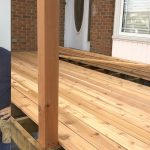 DIY Weekend Deck Project Part 3 - Laying Down Deckboards