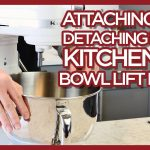 KitchenAid Taking the Bowl On & Off Bowl Lift Mixer