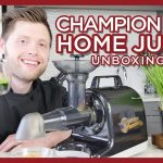 Champion Juicer 4000 Unboxing & Test