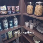 The Landsbury Corner Pantry by Masterclass Kitchens