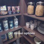 The Landsbury Corner Pantry by Masterclass Kitchens