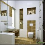 Brown and White Bathroom Accessories