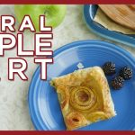 Spiral Apple Tart with KitchenAid Sheet Cutter - Apple Recipe