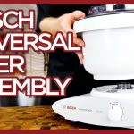 Bosch Universal Mixer - Installing the Bowl & Tools