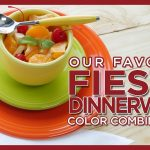 Our Favorite Fiesta Color Combinations