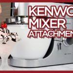 Kenwood Mixer Attachments - Chef Titanium Blender, Food Processor, and More