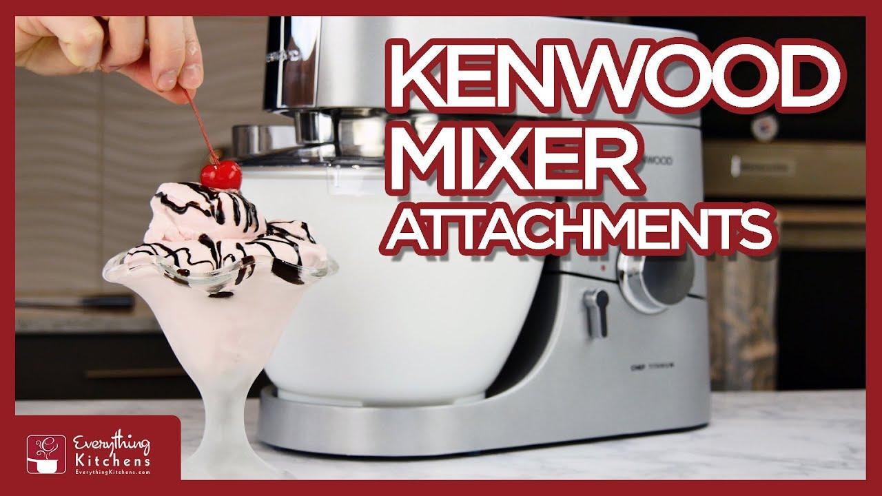 Kenwood Mixer Attachments Chef Titanium Blender Food
