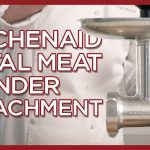 KitchenAid Metal Food Grinder Attachment - Metal Meat Grinder KSMMGA