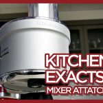 KitchenAid Mixer ExactSlice Food Processor Attachment
