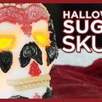 Halloween Sugar Skull Tutorial for Day of the Dead - Skull Cake Pan