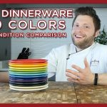 Fiesta Dinnerware 2019 Colors & Lighting Condition Comparison